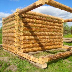 Сруб— деревянное сооружение, стены которого собраны изрубленых брёвен.Материалом для постройки сруба является натуральная древесина, восновном хвойные породы: пихта, сосна, ель. Хвойные породы гораздо меньше подвержены гниению, древоточению паразитами ивлиянию погодных условий. Для постройки бань, саун иколодцев выбирают древесину лиственных пород: береза, дуб, орех.Основные виды деревянных домов.