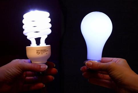 Замена ламп накаливания на энергосберегающие