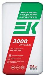 Комплектстрой: Клей ЕК-3000 для плитки— 257 руб